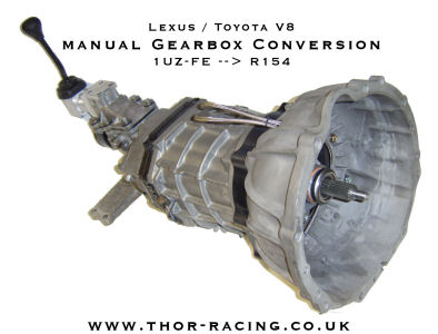 THOR Racing R154 to 1UZ-FE Conversion